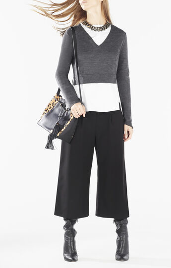 Viktorie Wool Crop Top