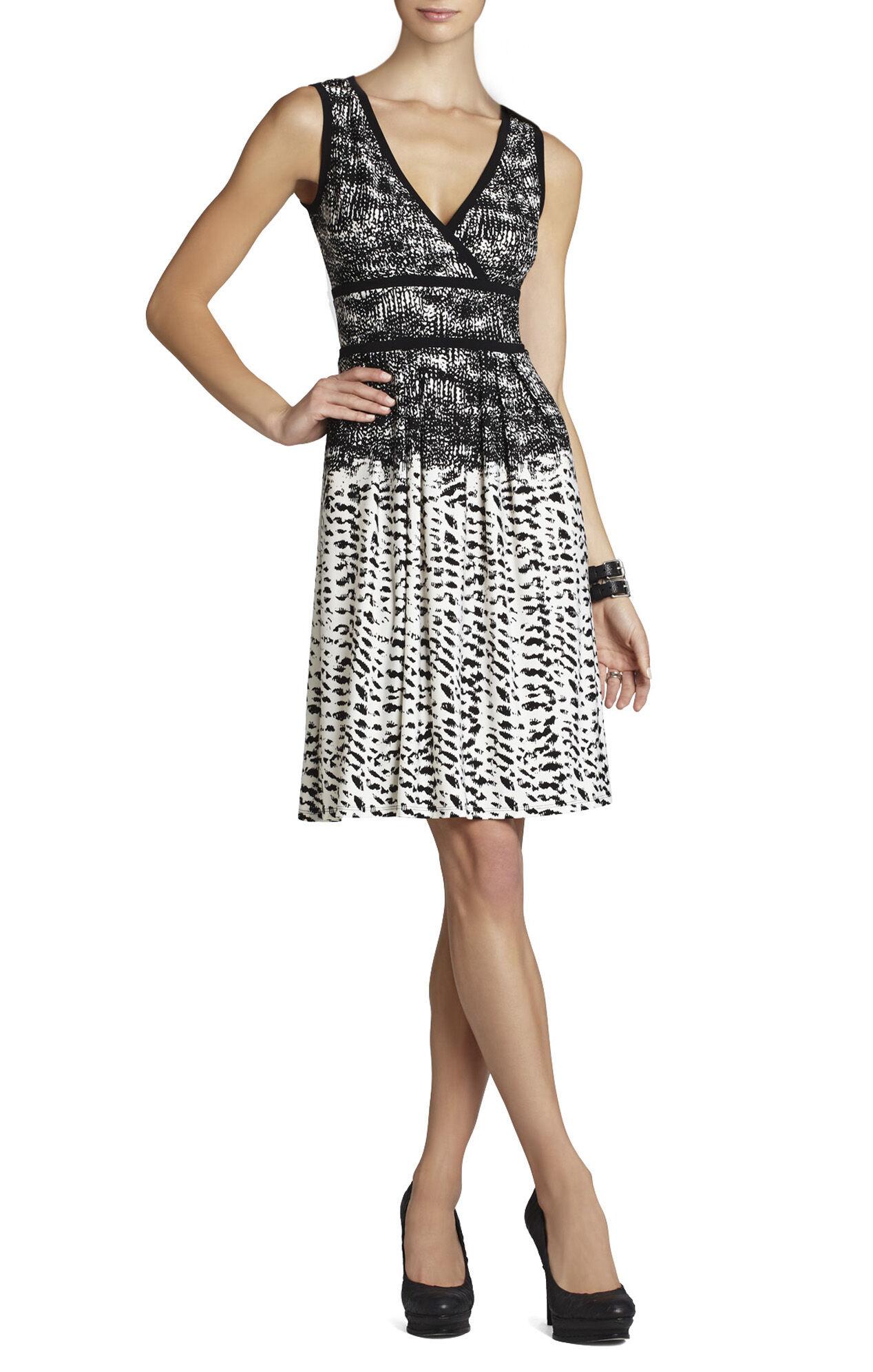 Kerra Printed Top-Wrap Dress