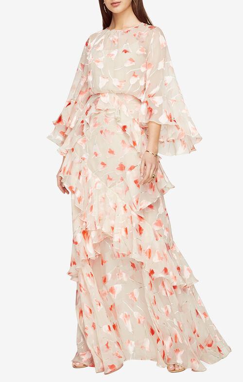 Margot Floral Print Gown