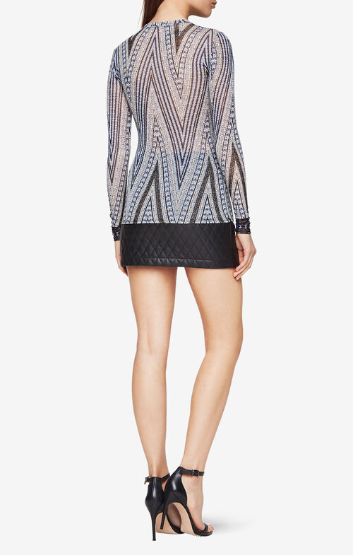 Agda Chevron-Print Top