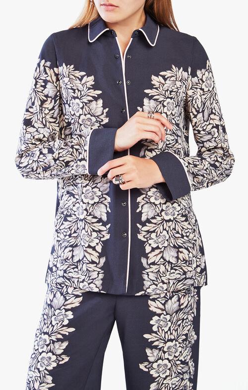 Monroe Floral Button-Up Top
