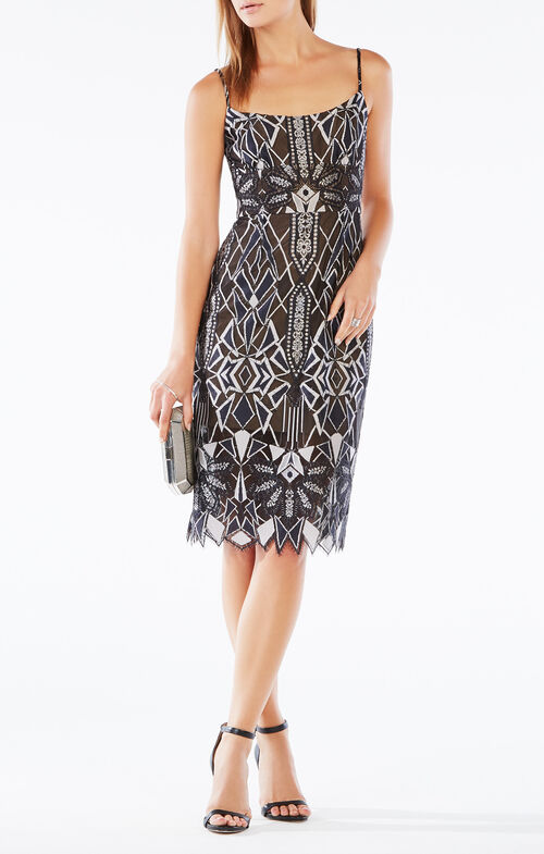 Alese Deco Lace Dress