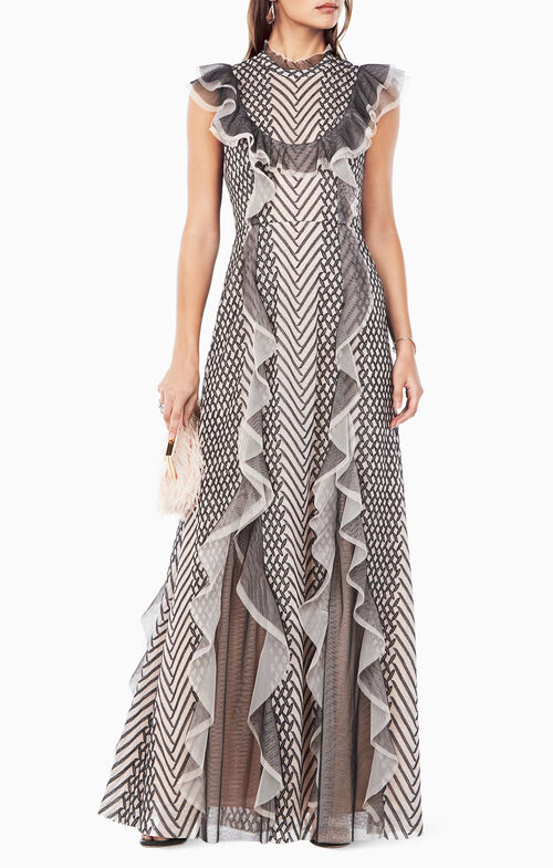 Cloe Embroidered Gown