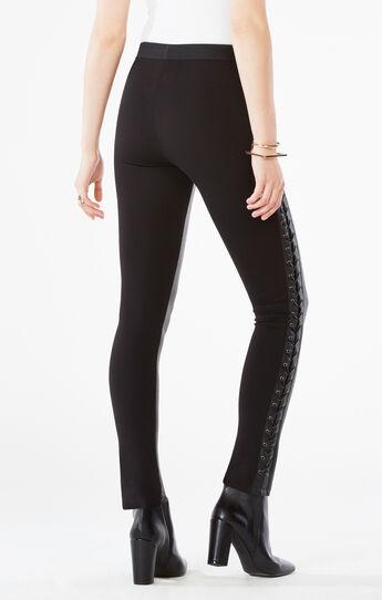 Jaims Faux-Leather Legging