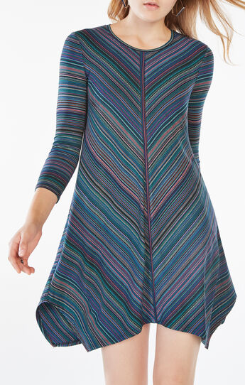 Carmela Striped Jersey Dress