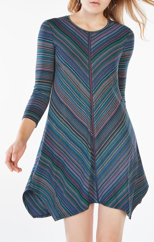 Carmela Striped Jersey Dress