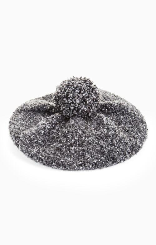 Knit Pom Beret