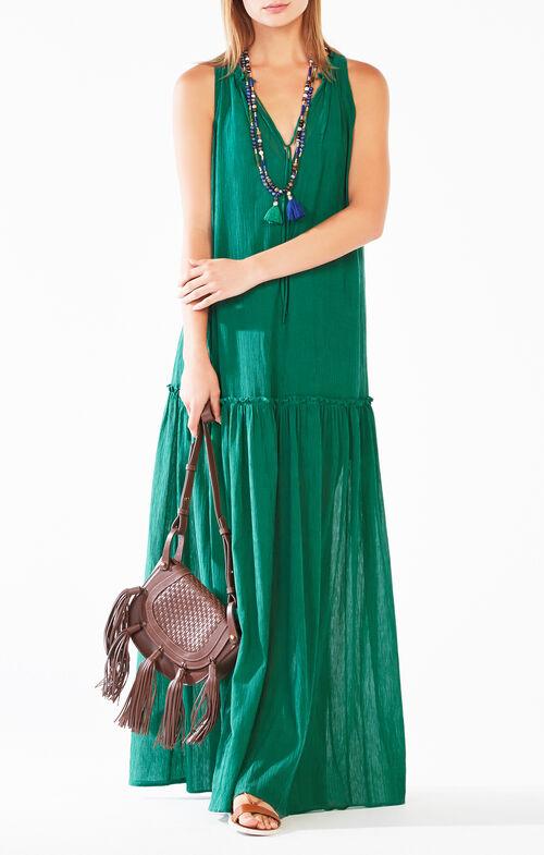 Galiana Drop-Waist Maxi Dress