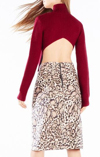 Aeryn Asymmetrical Turtleneck Sweater
