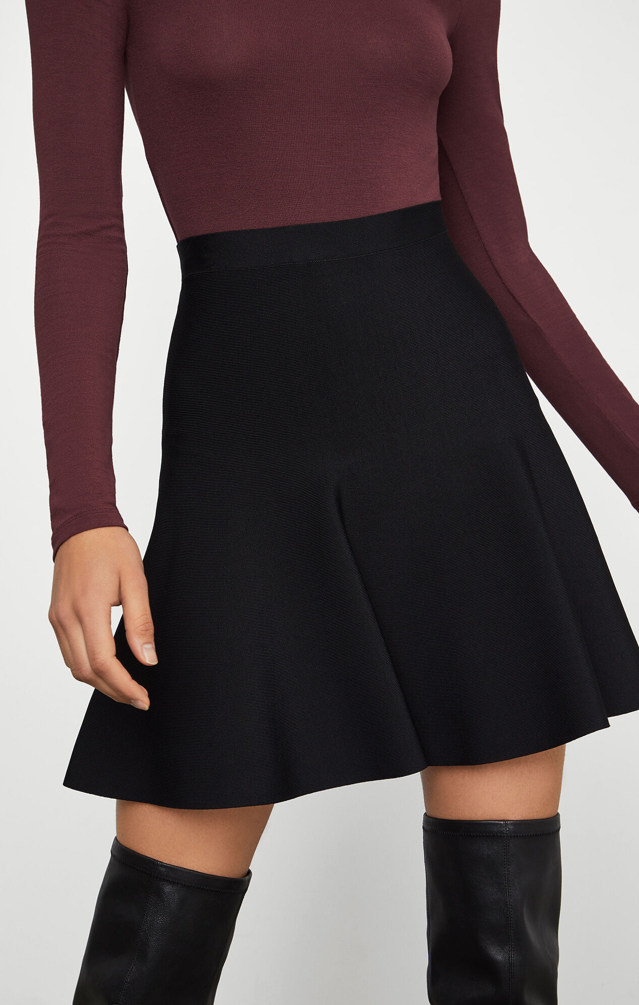 ingrid a line skirt