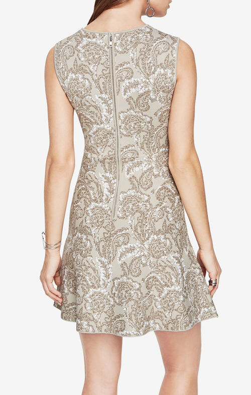 Alix Floral Jacquard Dress