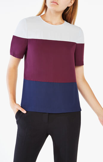 Caleste Color-Blocked Top