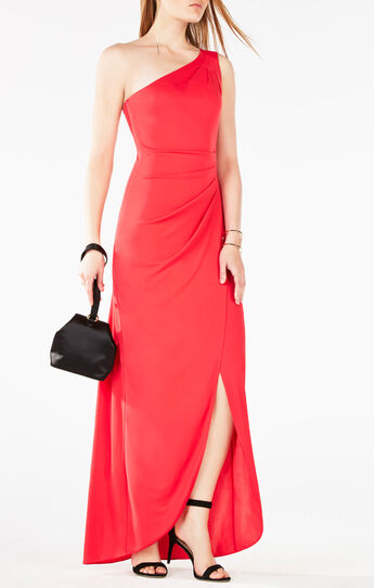 Courtney One-Shoulder Gown