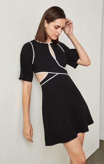 Gracelynn Cutout Open-Back Dress