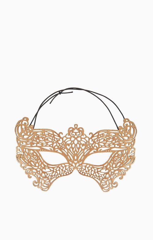 Metallic Filigree Mask