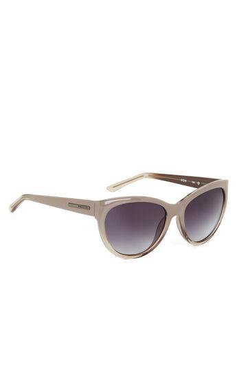 Retro Round Cat-Eye Sunglasses
