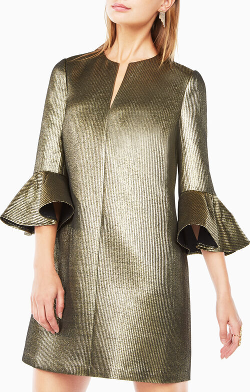 Judy Metallic Dress