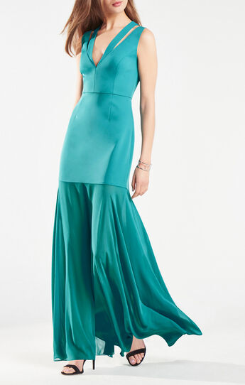 Orlena Double-Strap Gown