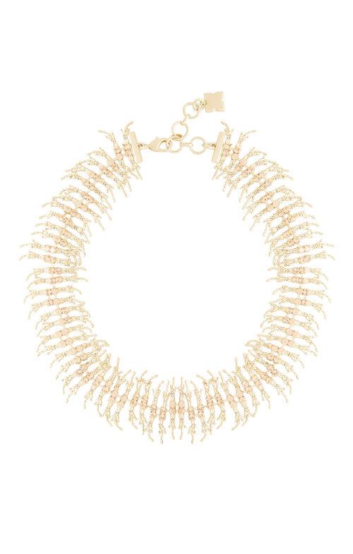 Fringe Stone Necklace