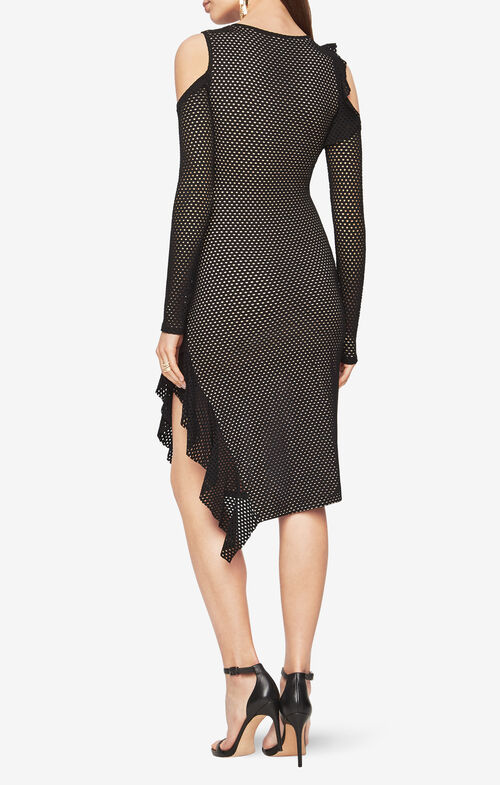 Zola Cold-Shoulder Dress