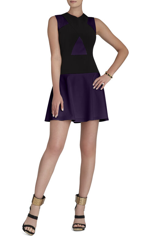 Aloissa Color-Blocked Dress