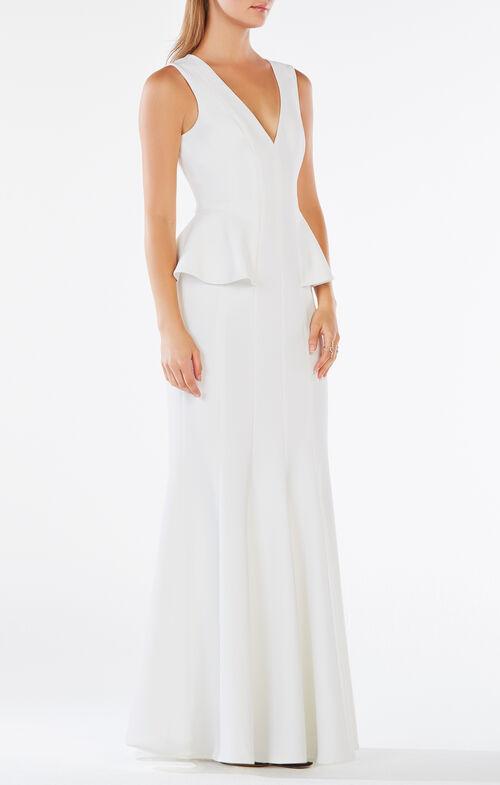 Francesca Peplum Gown