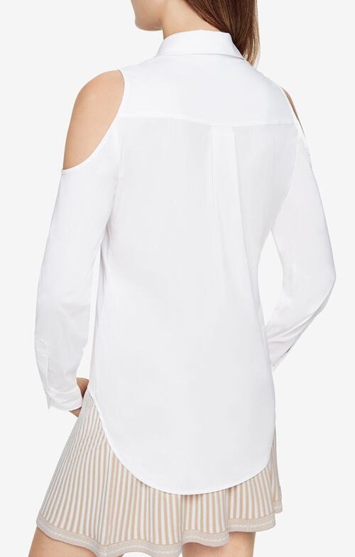 Rolanda Cold-Shoulder Shirt