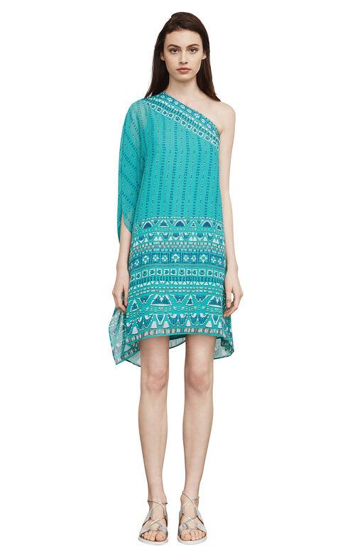 Alana One-Shoulder Dress