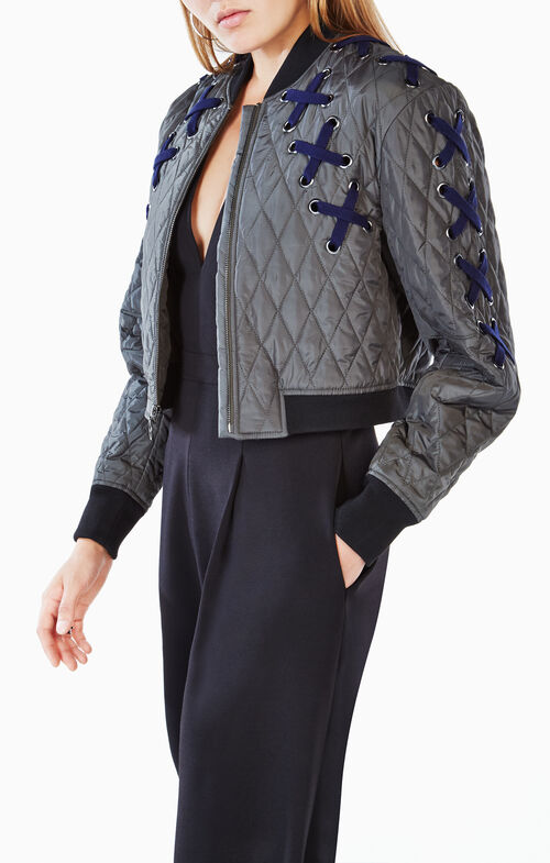 Colin Quilted Bomber Jacket