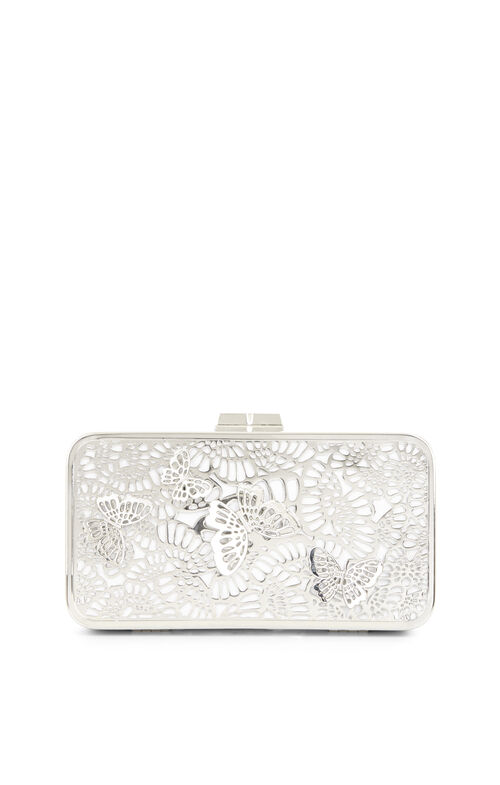 Edith 3D Butterfly Cage Clutch