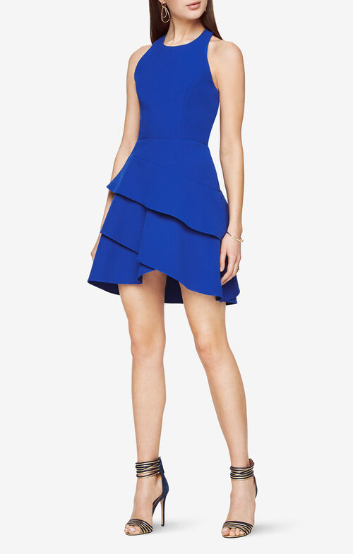 Chesney Cutout Ruffled Dress