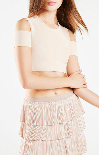Miles Cold-Shoulder Crop Top