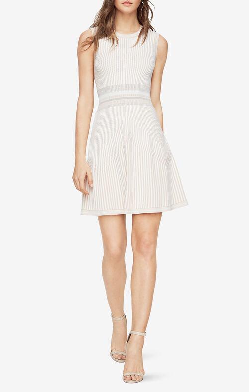 Wilma Knit Jacquard Dress