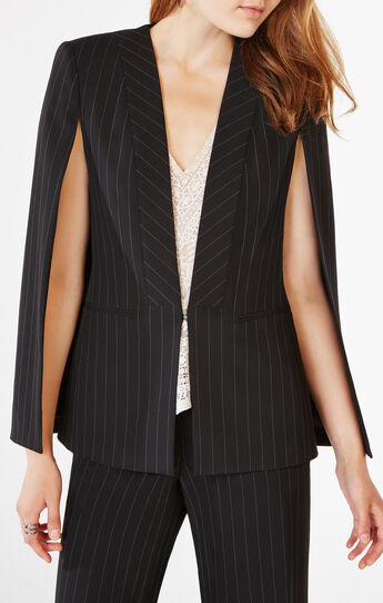Upas Pinstriped Cape