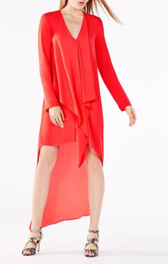 Kyndal Ruffle High-Low Dress