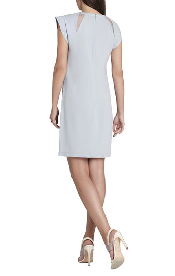 Alycia Cowl-Sleeve Sheath Dress