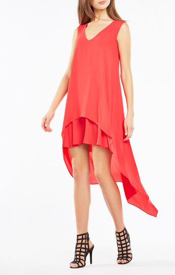 Kaira Asymmetrical Layered Dress