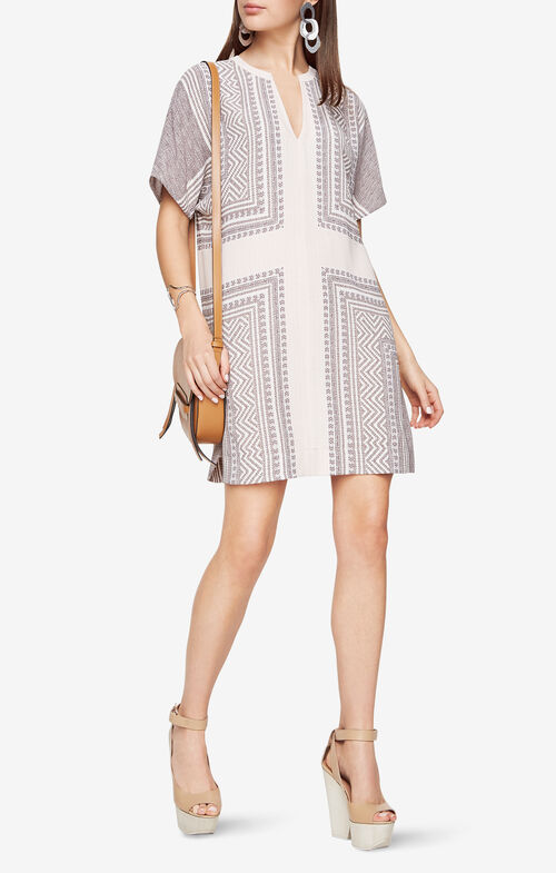 Harlan Mosaic-Print Dress