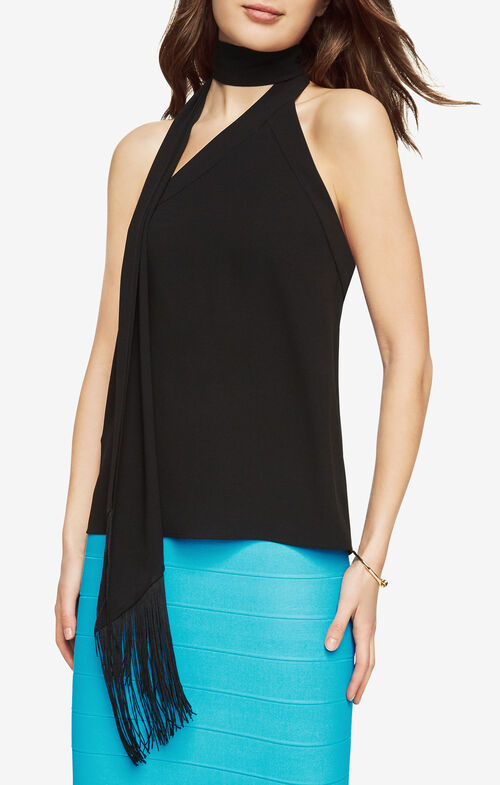 Rosie Wrap-Neck Top