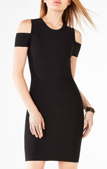 Monicka Cold-Shoulder Dress