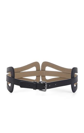 Cutout Buckle Waist Belt
