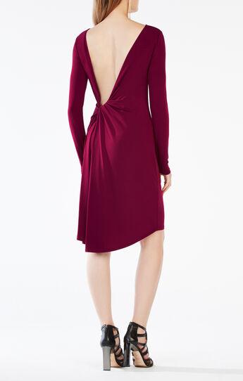 Celia Open-Back Jersey Dress