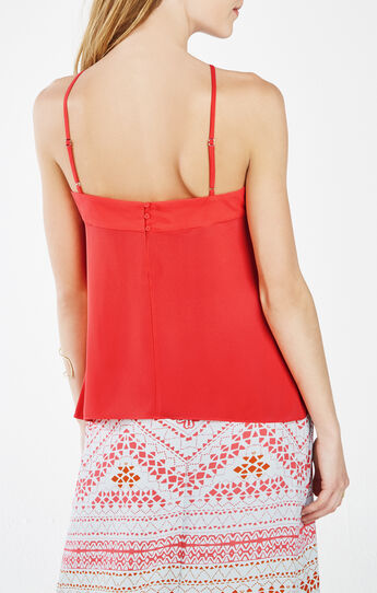 Veronicka Halter-Neck Cutout Tank Top