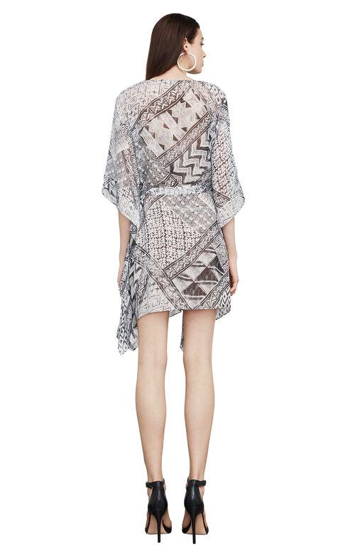 Caley Geometric-Print Tunic Dress
