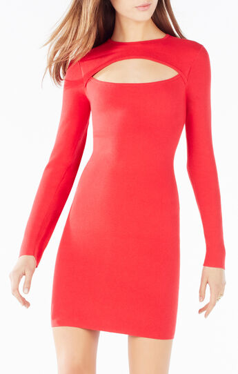 Fyona Cutout Sweater Dress