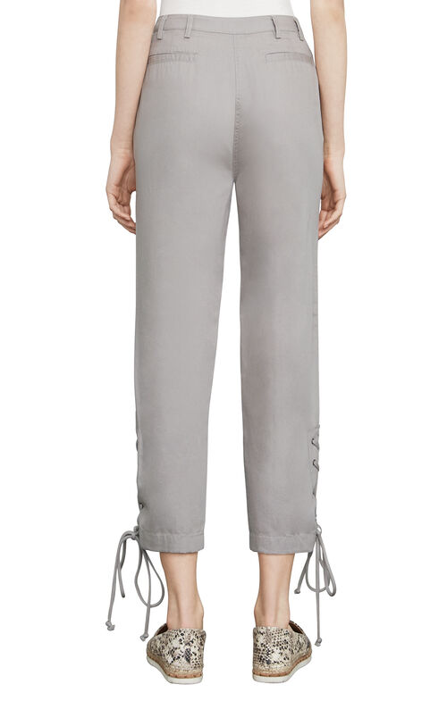 Chenille Cropped Pant