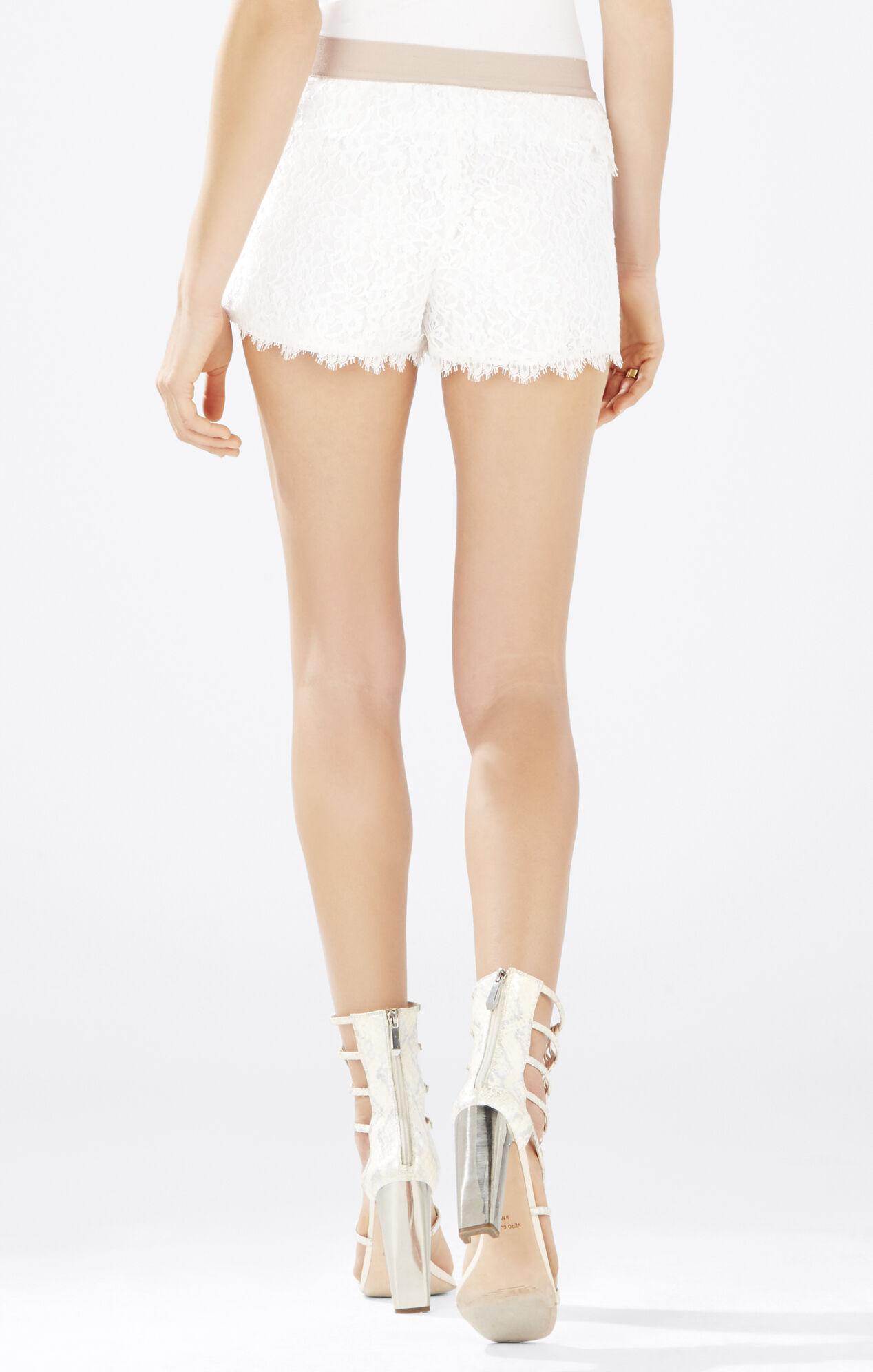 Skirts | Crochet Tiered Lace Short Skirt Pants Shorts ... |Black Tiered Lace Shorts