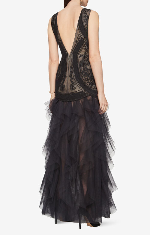 Vivica Embroidered Gown