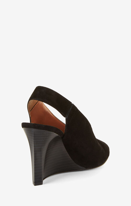 Nola Suede Wedge Sandals