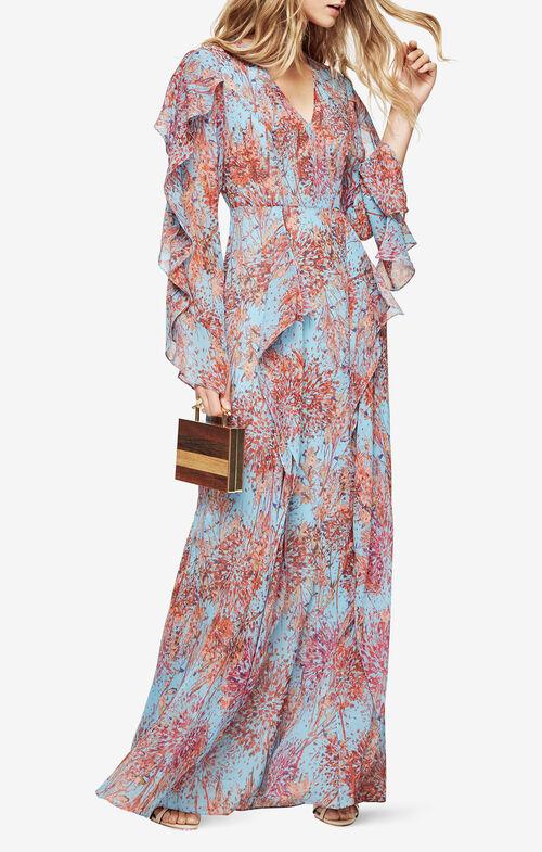Kalen Floral-Print Maxi Dress